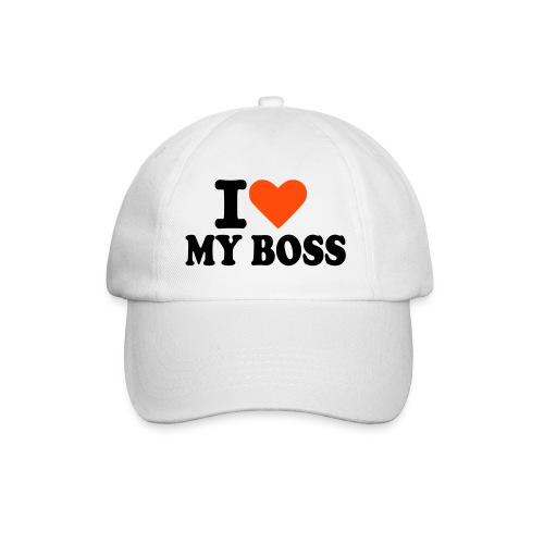 love my boss - Baseballkasket