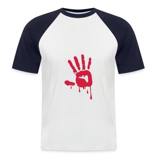Camiseta béisbol mano - Camiseta béisbol manga corta hombre