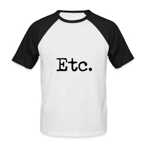 Etc - T-shirt baseball manches courtes Homme