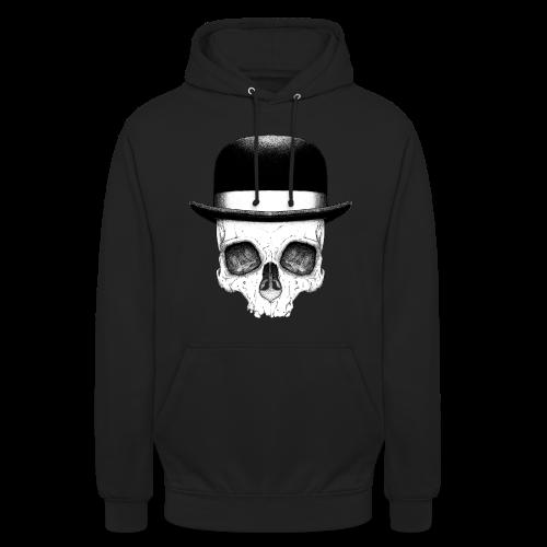 Skull with Hat - Unisex Hoodie