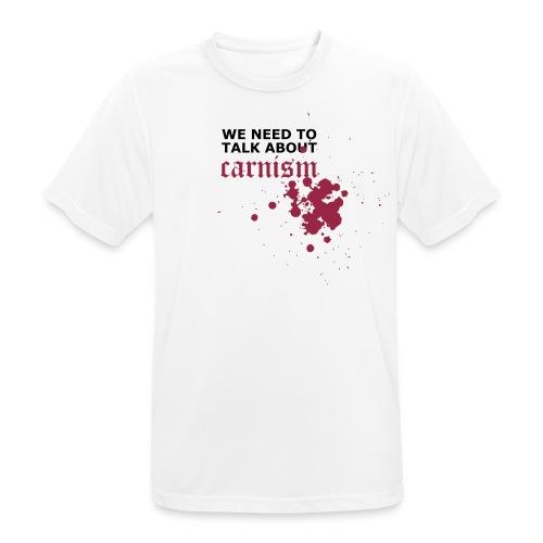 T-shirt med tryk - Herre T-shirt svedtransporterende