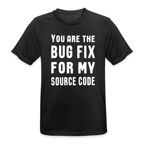 Programmierer Beziehung Liebe Source Code Spruch T-Shirts - Männer T-Shirt atmungsaktiv