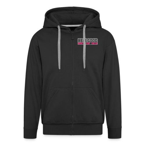 RealGood Wintercup 2018 Zipper - Mannenjack Premium met capuchon