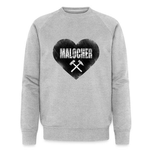 I love Malocher Pulli - Männer Bio-Sweatshirt von Stanley & Stella