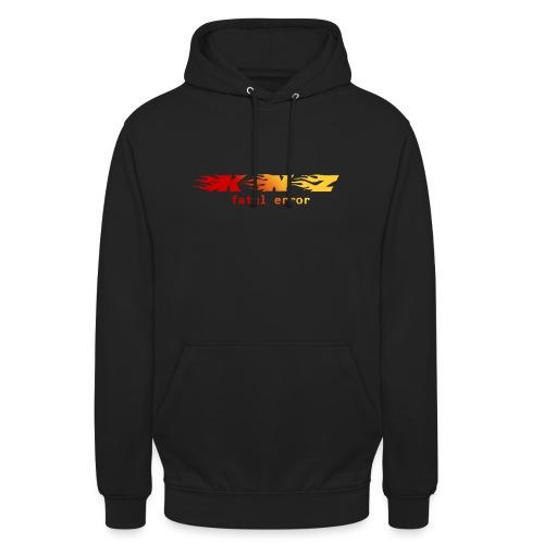 fatal error rouge - Sweat-shirt à capuche unisexe