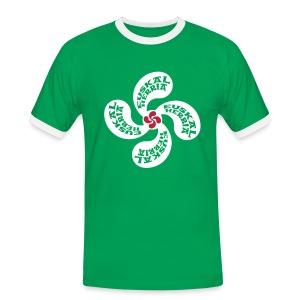 Croix du Pays Basque - T-shirt contrasté Homme