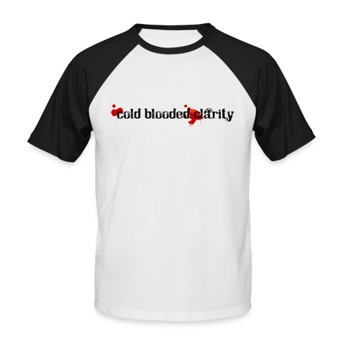 Cold Blooded Clarity - Men's Baseball T-Shirt