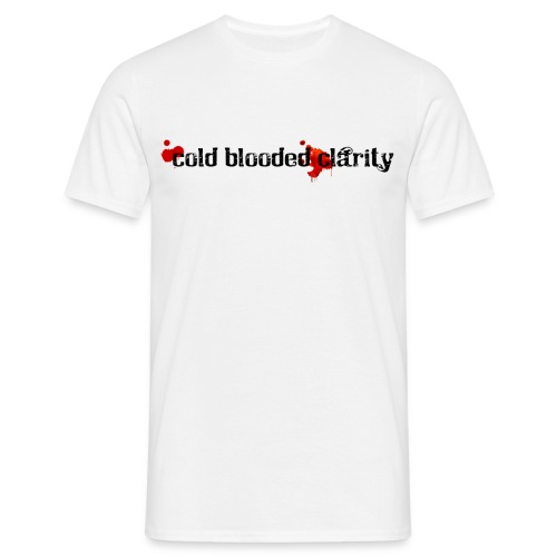 Cold Blooded Clarity - Men's T-Shirt