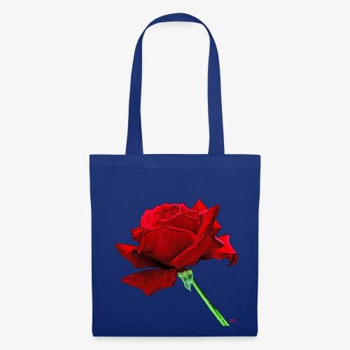 Rose rouge - Tote Bag