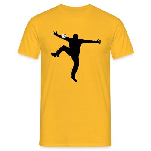 Gardien Handball (Jaune / Noir) - T-shirt Homme