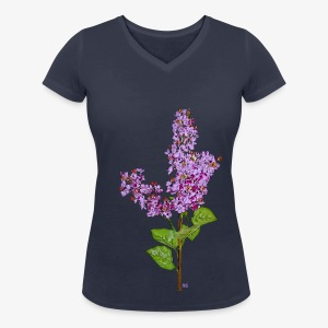 Lila clair - Women's Organic V-Neck T-Shirt by Stanley & Stella