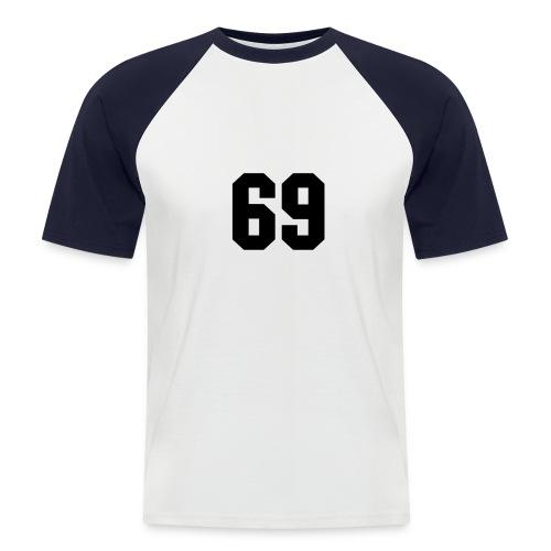Baseball t-skjorte - Kortermet baseball skjorte for menn