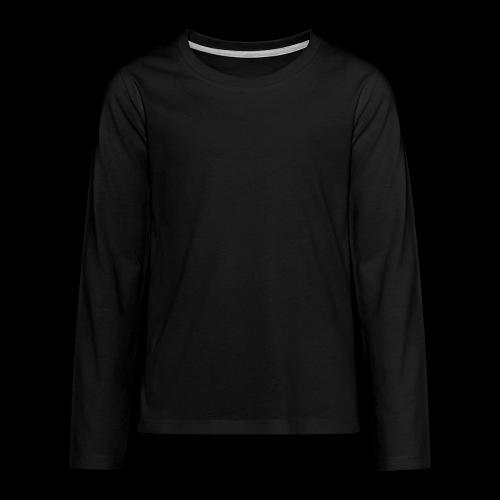 Peacheyboy Glow-In-The-Dark Long Sleeve Shirt [Teen] - Teenagers' Premium Longsleeve Shirt