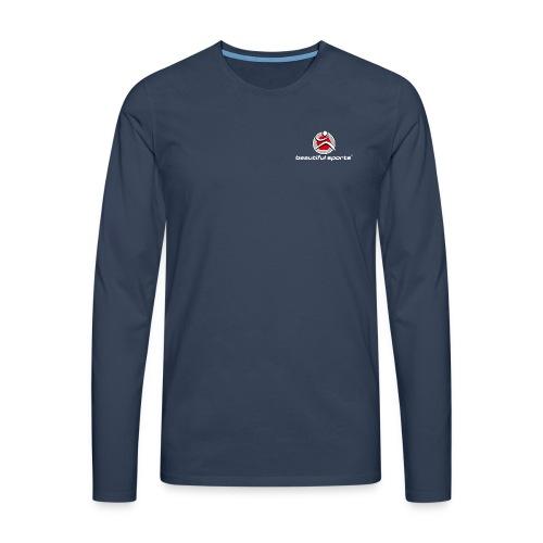 Herren Langarm T-Shirt - Männer Premium Langarmshirt