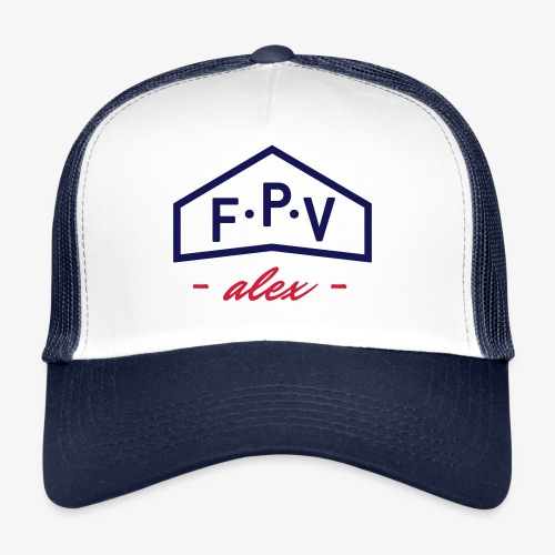 CUSTOMIZABLE FPV cap - v2 - Trucker Cap