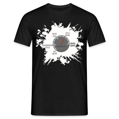 SHOOK Meter! - Men's T-Shirt