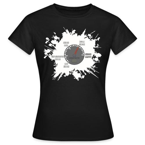 SHOOK Meter! (Ladies) - Women's T-Shirt