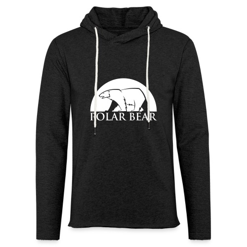 Sweat Polar Bear - Sweat-shirt à capuche léger unisexe