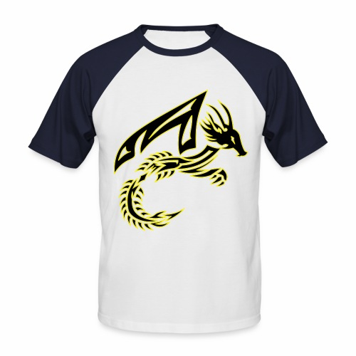 Black Dragon - Men's Baseball T-Shirt