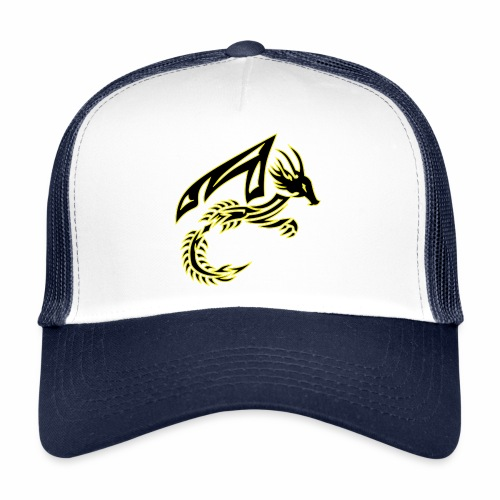 Black Dragon - Trucker Cap