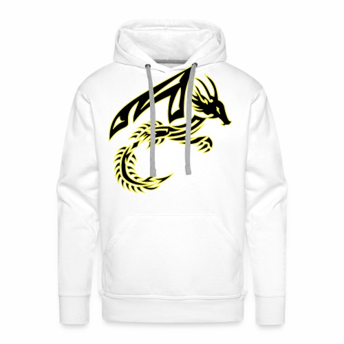 Black Dragon - Men's Premium Hoodie