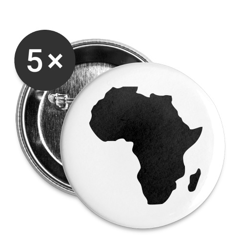 Badge -Africa - Lot de 5 moyens badges (32 mm)