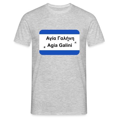 Heißes Pflaster: Agia Galini - Männer T-Shirt