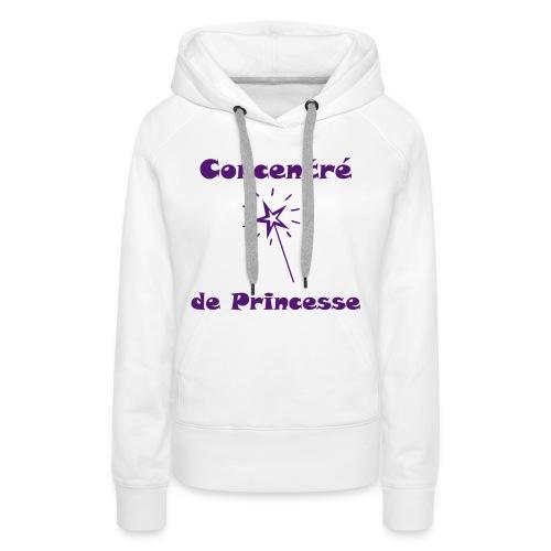 Princesse  - Sweat-shirt à capuche Premium pour femmes