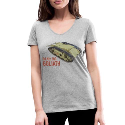 SdKfz 303 Goliath - Frauen Bio-T-Shirt mit V-Ausschnitt von Stanley & Stella