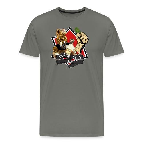 RAW 2018 Herren mit Gurke - Männer Premium T-Shirt