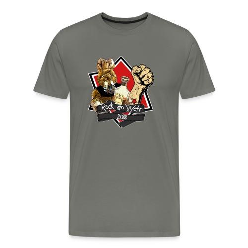RAW 2018 Herren - Männer Premium T-Shirt