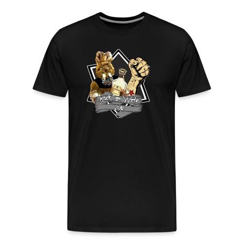 RAW 2018 Herren grauer Stern - Männer Premium T-Shirt