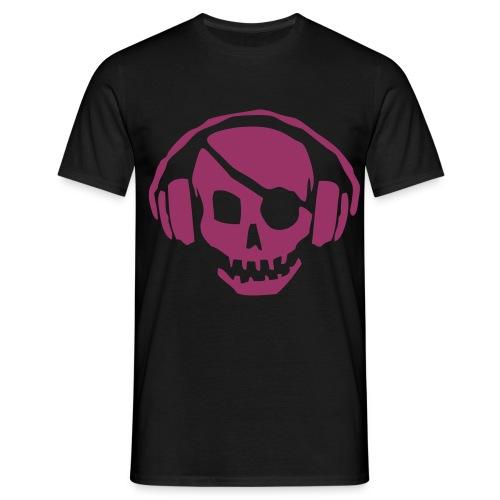 Skull n' Phones - Men's T-Shirt