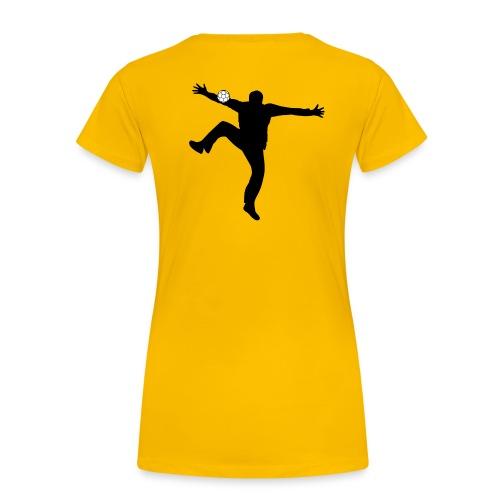 Gardien Handball (Jaune/ Noir) / No pasaran - T-shirt Premium Femme
