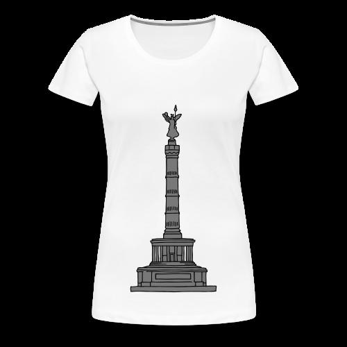 Siegessäule in Berlin 2 - Frauen Premium T-Shirt