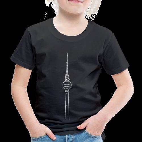 Fernsehturm Berlin - Kinder Premium T-Shirt
