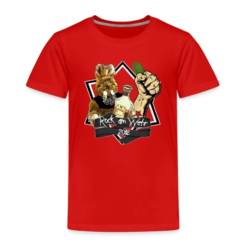 Kinder T-Shirt 2018 - Kinder Premium T-Shirt