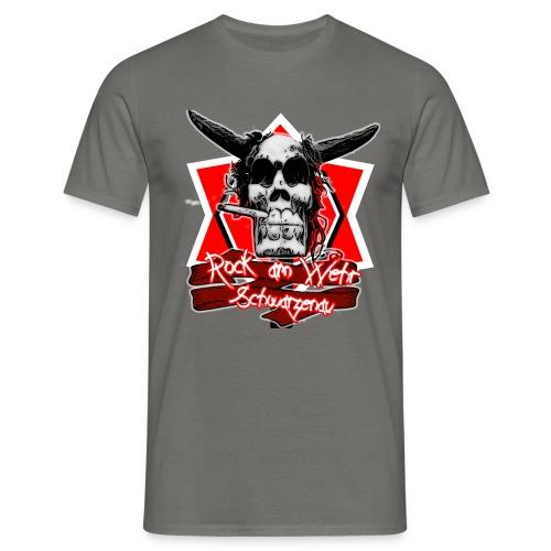 Rock am Wehr Schwarzenau - Männer T-Shirt
