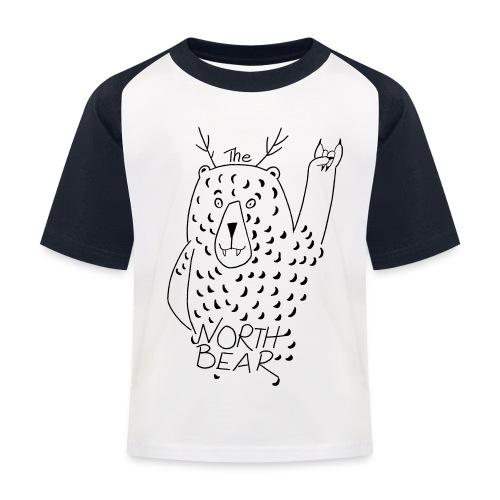 The Northbear Kinder Kontrast T-Shirt  - Kinder Baseball T-Shirt