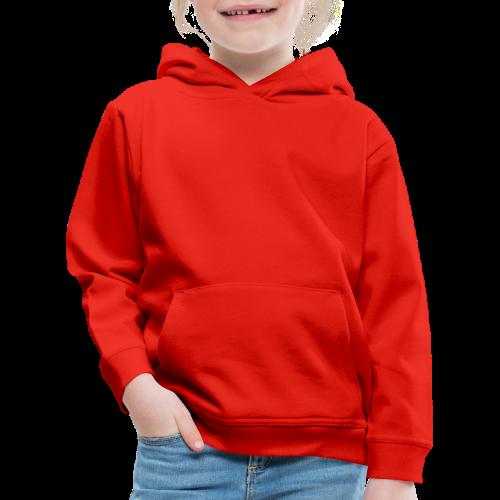 Huvtröja, barn,  utan tryck - Premium-Luvtröja barn