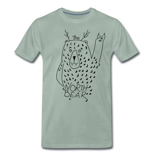 The Northbear Männer T-.Shirt  - Männer Premium T-Shirt