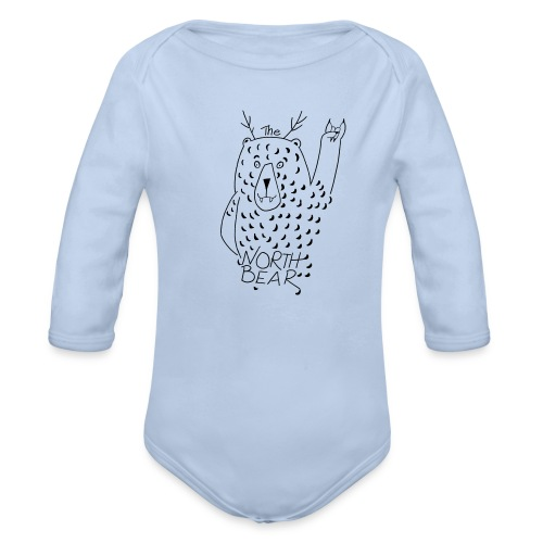 The Northbear Baby Body - Baby Bio-Langarm-Body