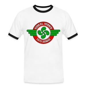 Pays Basque - T-shirt contrasté Homme