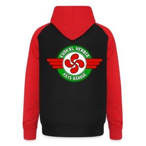Pays Basque - Sweat-shirt baseball unisexe