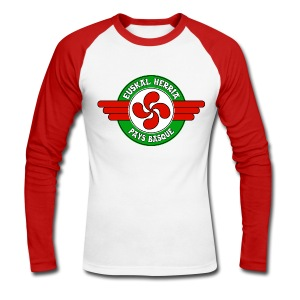 Pays Basque - T-shirt baseball manches longues Homme
