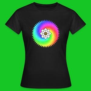 Lotus Juweel Sahasrara dames t-shirt - Vrouwen T-shirt