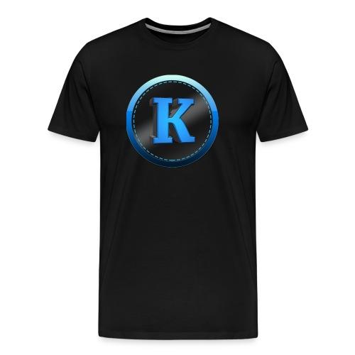 Herre T-Shirt med logo - Herre premium T-shirt
