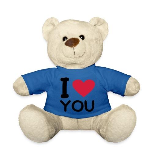i love you teddy - Teddy