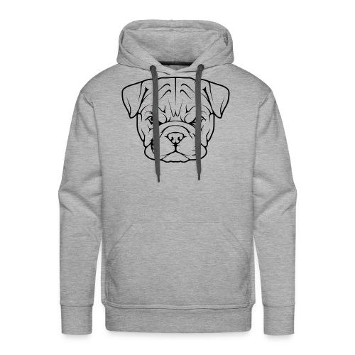 Bouledogue Français - Sweat-shirt à capuche Premium pour hommes