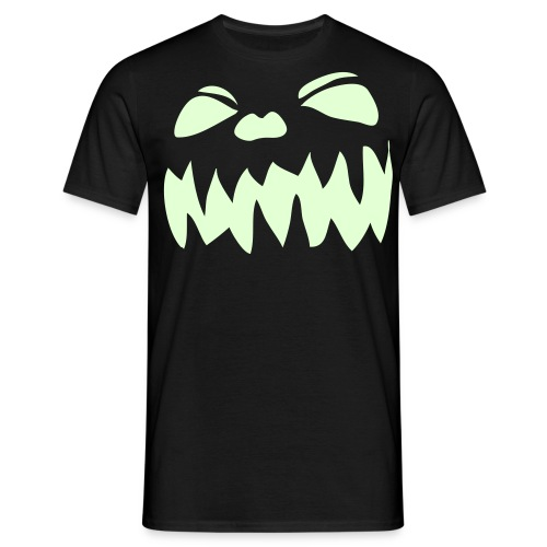 Pumpkin Face - Men's T-Shirt